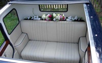 vintage limousine sun roof