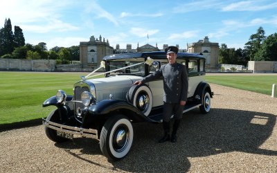 Chauffeur at Woburn Abbey