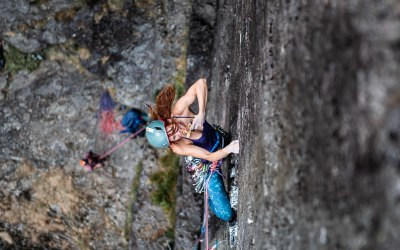 Shot on assignment for UK Climbing - Emma Twyford
