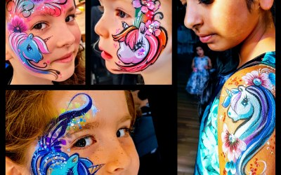 Saras Parlour Face Painting & Glitter Tattoos 1