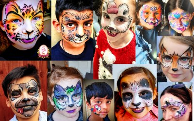 Saras Parlour Face Painting & Glitter Tattoos 5