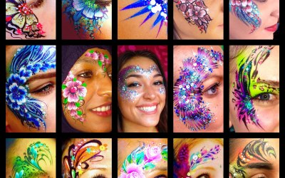 Saras Parlour Face Painting & Glitter Tattoos 4