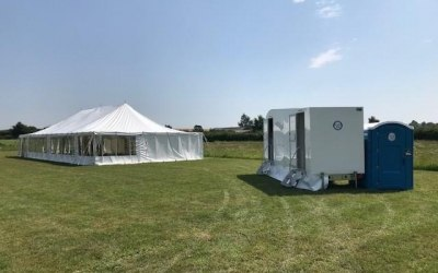 Luxury Trailer & Accessible Toilet