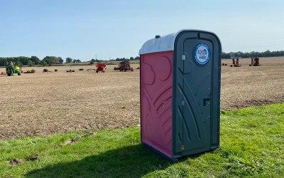 Pink Portable Toilet