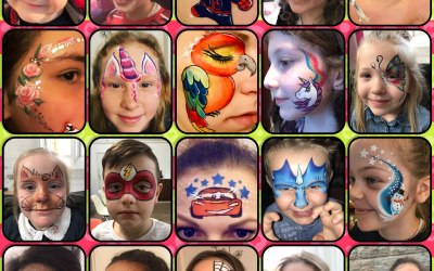 Some of my face painting designs