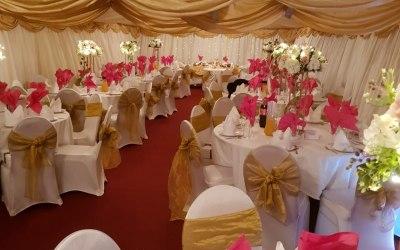 Marquee Event wedding Setup