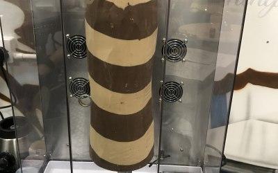 Chocolate kebabs