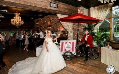 Newton Hall wedding Ice Cream
