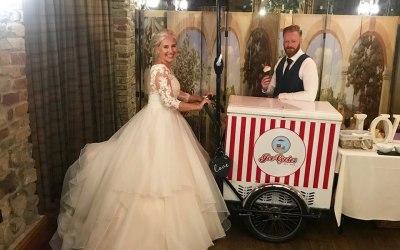South Causey Inn Wedding Ice Cream