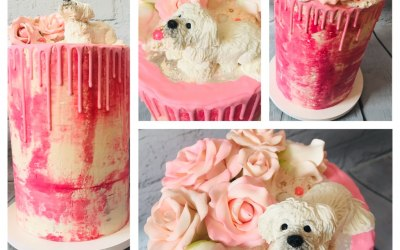 Pink & Pooch.. All handmade and edible.