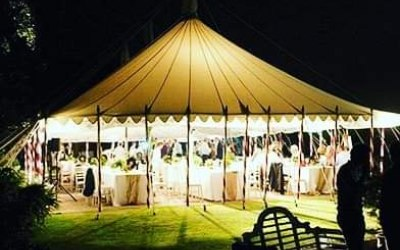 Our beautiful bell tent available for hire.