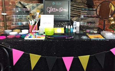 Glitter Bar - contact us to hire