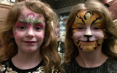 Flower Fairy and Tiger