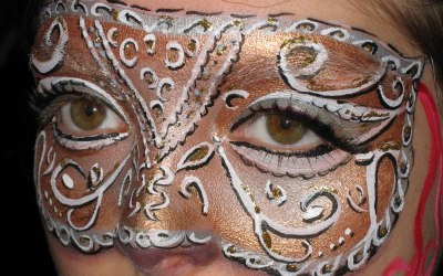 Filigree mask