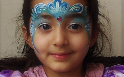 Lapis Lizard - Face Painting and Body Art 4
