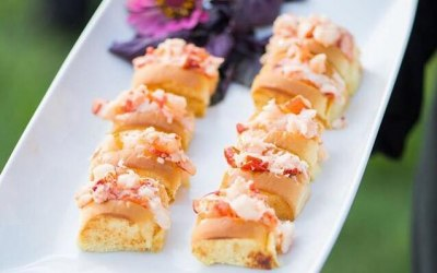 Lobster Roll Canapes