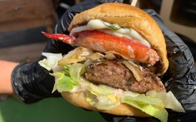 Loaded Lobster burger