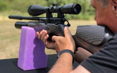 Mobile Air Rifle Range