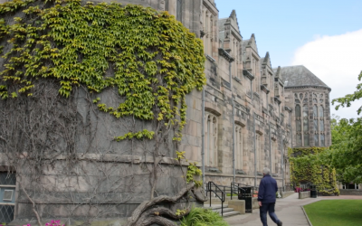 A shot of Aberdeen University from a recent shoot for their Admissions department.