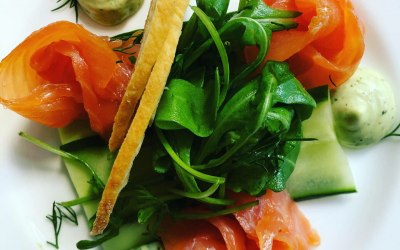 Smoked Salmon Banqueting