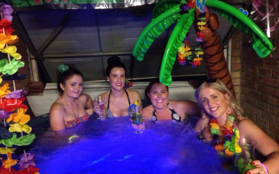 Hot Tub Celebrations Hot Tub Hire from £185 for a Weekend