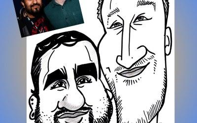 Live caricature