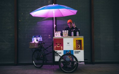 The Marshmallowist Trike x W Hotel London