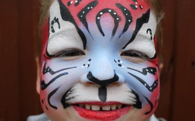 Lily's Face Painting 5