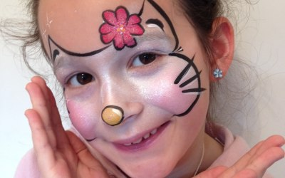 Lily's Face Painting 2