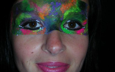 Lily's Face Painting 7