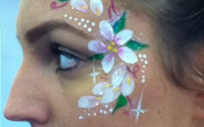 Lily's Face Painting 9