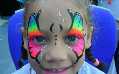 Lily's Face Painting 6