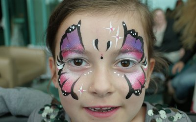 Lily's Face Painting 4