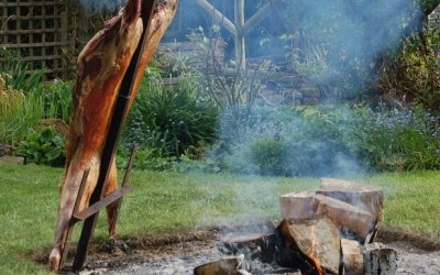 Cooking lamb the Argentine way