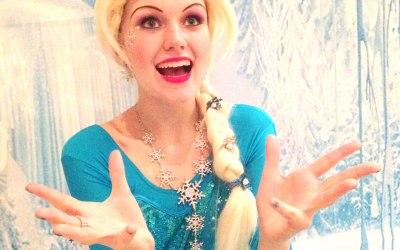 Frozen themed parties