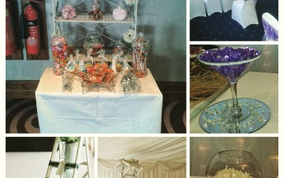 sweets ladder table plan chair covers martini vase fish bowl centre piece