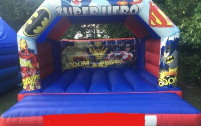 Super Heroes 15ft x 15ft