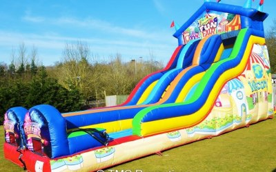 Fun Fair Slide