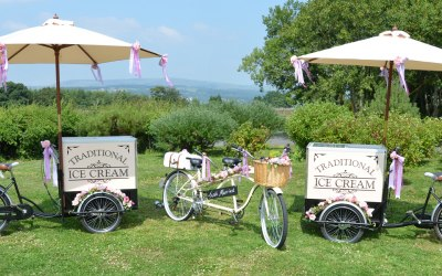 Ice Cream Tricycles & Wedding Tandem