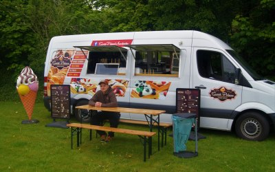our food truck ready to trade :)