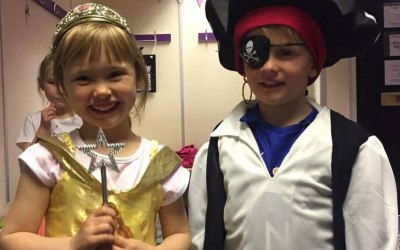 Princess and pirate party