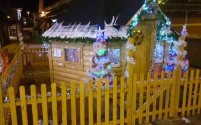 We both build and hire Grotto's to fit any theme or budget