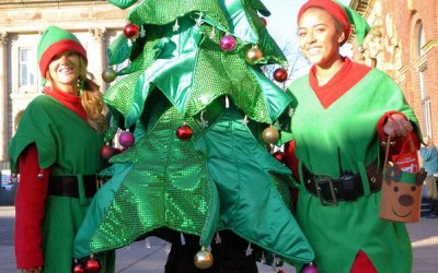 We have a range of Christmas Mascots and characters for hire
