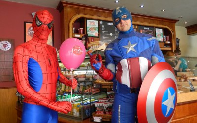 All Superheroes catered for, from Marvel, DC and Starwars