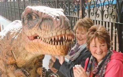 Why not have a roarsome event with dinosuars, we have large and small ones to fit any budget size