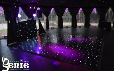 Classic Black Disco with Mood Lighting