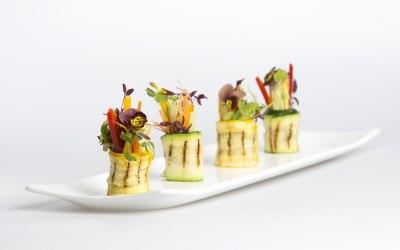 Involtini canapé - one our popular menu items