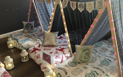 Popcorn & Pyjama's Tent Parties 9