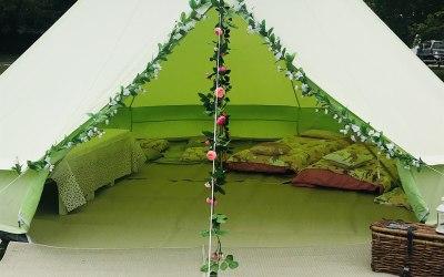 Popcorn & Pyjama's Tent Parties 4