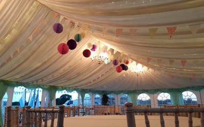 Marquee Styling and Dressing